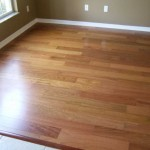 light brazilian cherry engineered floor