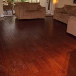 completed cherry floor