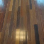 Brazilian walnut natural floor