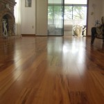 tigerwood floor in formal living room