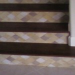 tiled risers steps slide