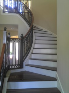 Hardwood Floors Inc Oviedo stairs j