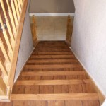 6 inch wood on steps